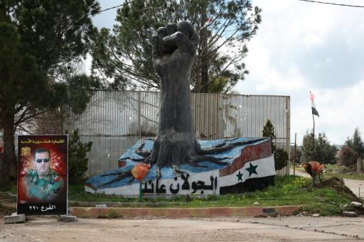 Manifestations à travers la Syrie contre la décision américaine sur le Golan
