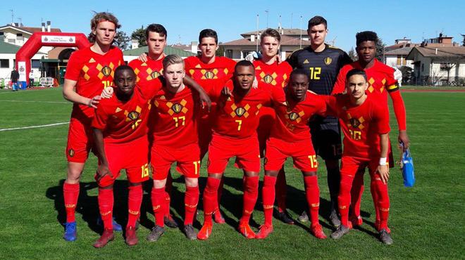 Battue par l'Ukraine, la Belgique dit adieu à l'Euro U19