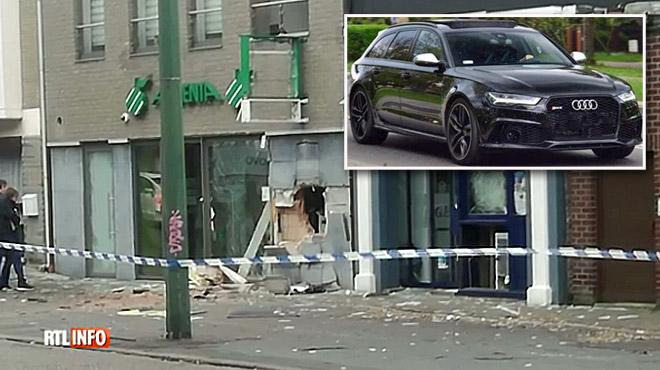 Attaque à l'explosif d'un distributeur de billets à Visé: les enquêteurs cherchent une énorme Audi