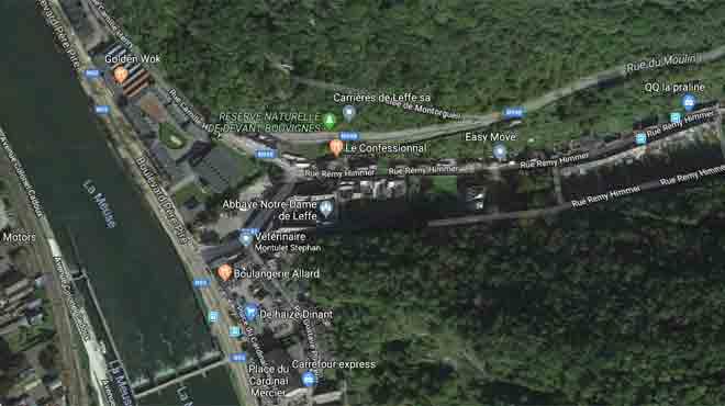 Dinant: la fuite de gaz qui a entraîné l'évacuation d'un supermarché est colmatée