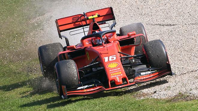 Charles Leclerc signe sa première pole position — Automobilisme