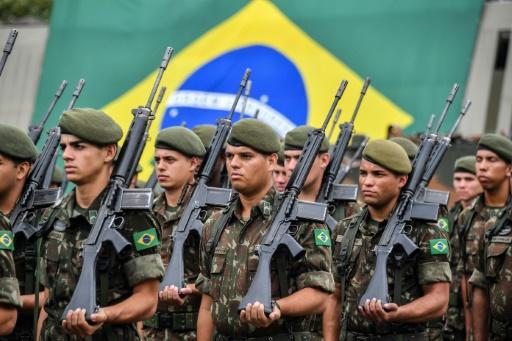 Brésil: un régiment célèbre le coup d'Etat militaire de 1964