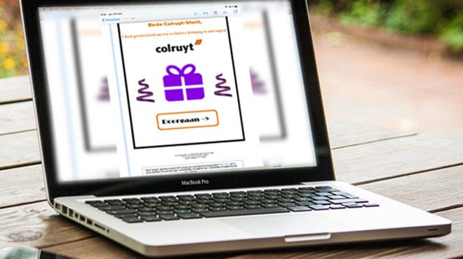 Tentatives d'arnaque par de faux emails Colruyt: soyez vigilants!