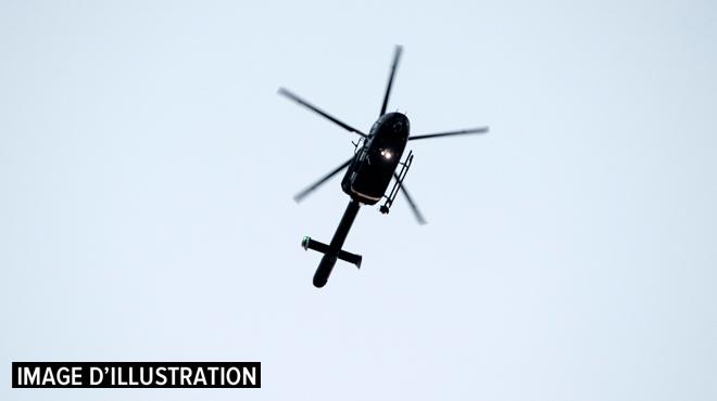 Le pilote d'hélicoptère amoureux risque gros — Belgique