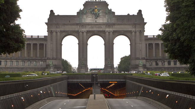 Le tunnel Cinquantenaire fermé à la circulation: