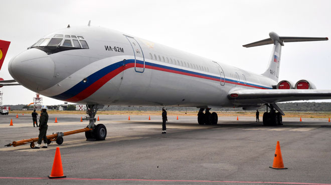 Le Venezuela accueille des militaires russes, au grand dam des États-Unis: