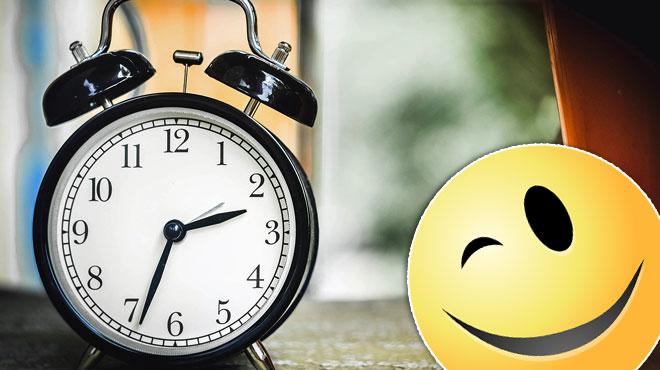 Le conseil du jour: n'oubliez pas de changer l'heure ce soir
