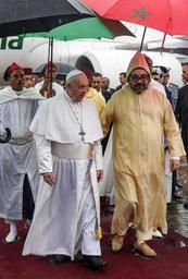 Le pape François en visite au Maroc, terre d'un