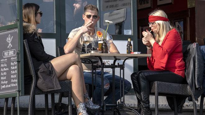Interdiction de fumer dans les débits de boissons: plus de 638.000 euros d'amendes l'an dernier