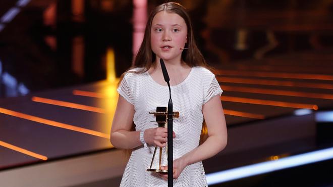 Greta Thunberg récompensée en Allemagne pour son engagement en faveur du climat