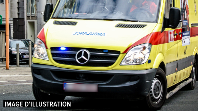 Anderlecht: 8 personnes transportées à l'hôpital après un incendie