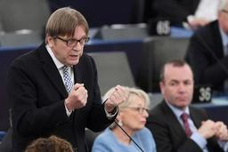 Guy Verhofstadt croit en un déblocage du Brexit cette semaine
