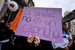 L'Espagne dépeuplée manifeste et fait le plein à Madrid