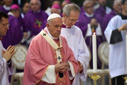 Abus sexuels dans l'Eglise: le pape espère avoir déclenché l'