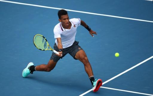 Tennis: Auger-Aliassime, le jeune prodige Canadien, invité au Masters de Madrid