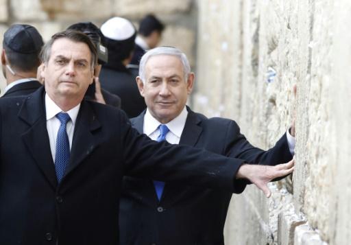 Bolsonaro crée un précédent diplomatique au Mur des Lamentations