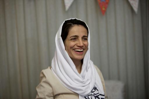 Paris décerne la citoyenneté d'honneur à l'Iranienne Nasrin Sotoudeh