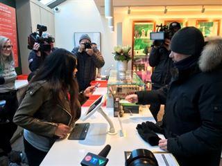 Canada- affluence dans les premiers magasins de cannabis en Ontario