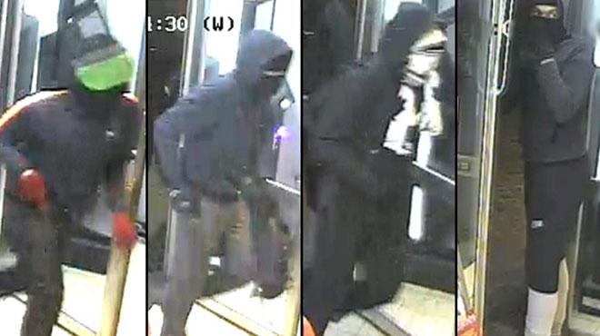 Vol à main armée dans une librairie à Liège: reconnaissez-vous ces 4 individus?