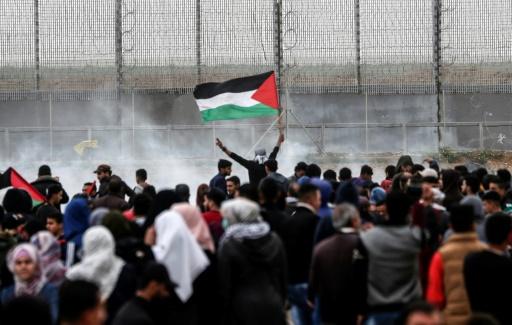 Gaza: un 5e Palestinien meurt de ses blessures après les heurts de samedi