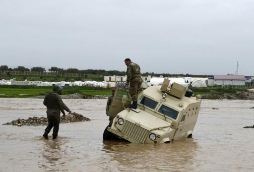 Syrie: 40.000 déplacés touchés par des pluies diluviennes dans le nord-ouest