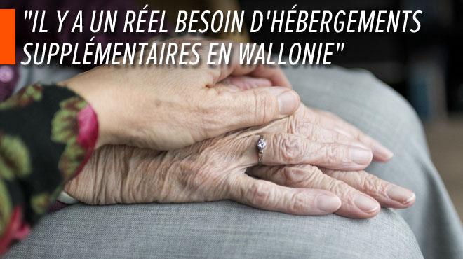 En Wallonie, les maisons de repos sont occupées à 97%: des places doivent être créées d'urgence