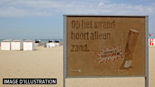 Des zones interdites aux fumeurs sur deux plages supplémentaires à la Côte belge