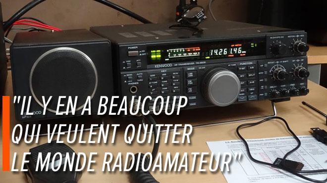 Patrick craint pour sa passion de radioamateur: