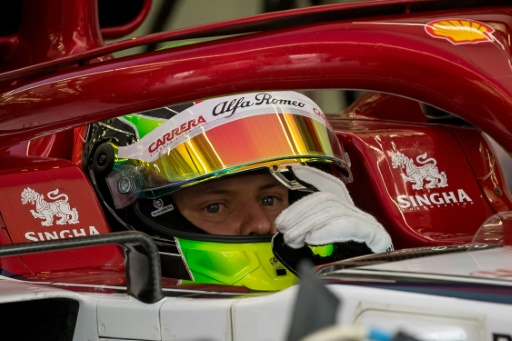 F1: Mick Schumacher a poursuivi son apprentissage avec Alfa Romeo Racing