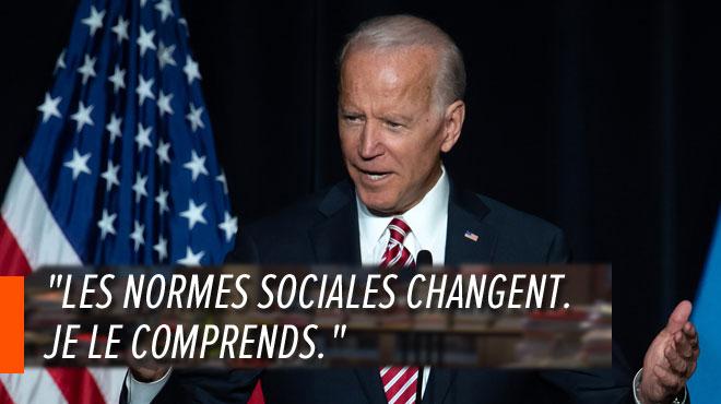 Joe Biden tente de désamorcer la polémique aux Etats-Unis sur ses gestes déplacés