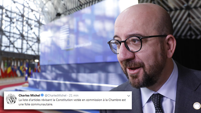 Charles Michel veut éviter une