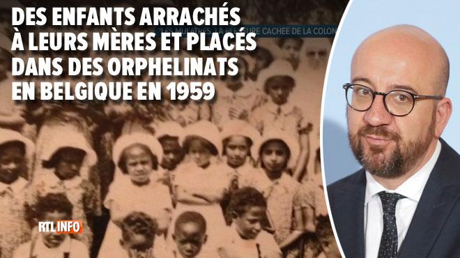 Charles Michel va présenter des excuses historiques aux métis arrachés à leurs mères à la fin de la colonisation du Congo
