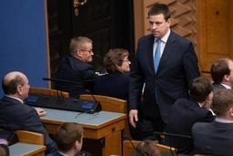 Démission du gouvernement estonien