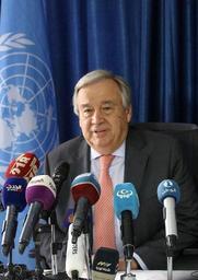 En Libye, le patron de l'ONU se dit