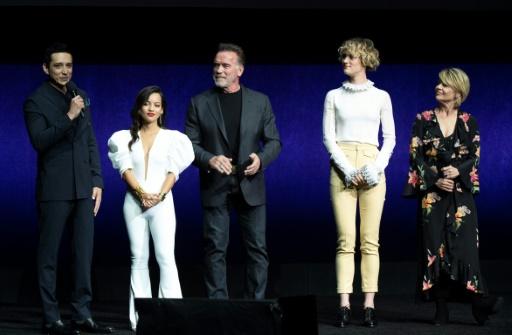 Schwarzenegger présente le nouveau