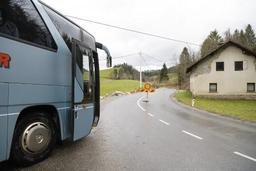 Slovénie: un homme détourne un bus public et meurt durant son arrestation