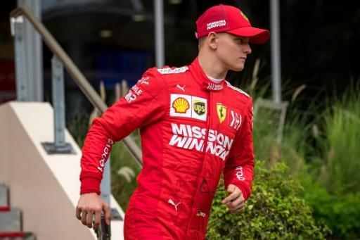 Mick Schumacher avec Ferrari: