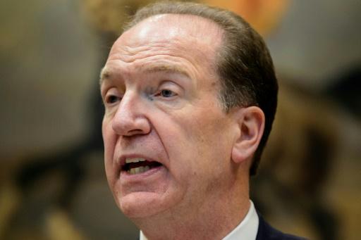 Banque mondiale: l'Américain David Malpass  nommé président