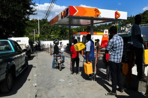Haïti: pénurie d'essence dans un contexte social précaire