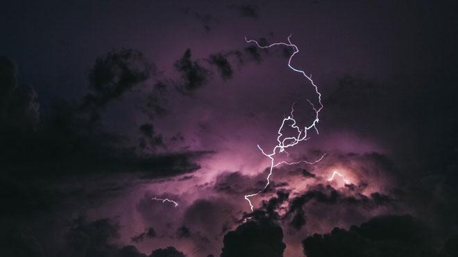Prudence: possibles orages dimanche en fin de journée