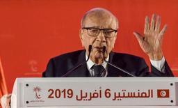 Le président tunisien Essebsi annonce ne pas être candidat à la présidentielle