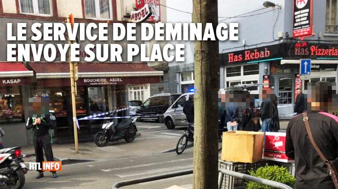 Un quartier de Schaerbeek évacué par la police: un obus de mortier découvert dans un hangar