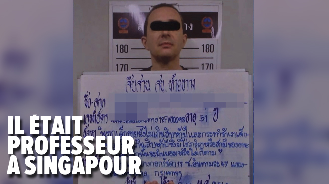 Il persuadait les jeunes d'avoir des relations sexuelles tarifées avec lui: le prof soupçonné de viols avait réussi à quitter la Thaïlande incognito