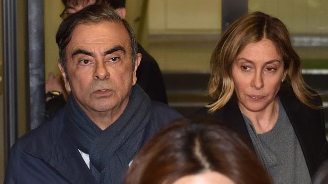 Rebondissement dans l'affaire Carlos Ghosn: sa femme quitte le Japon alors que la justice veut l'interroger