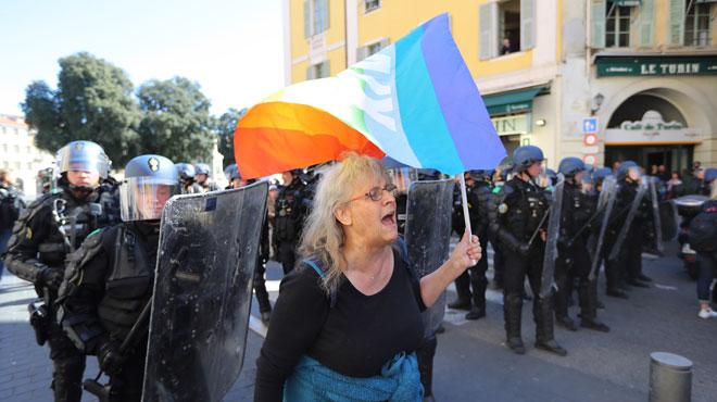 La manifestante blessée à Nice témoigne: