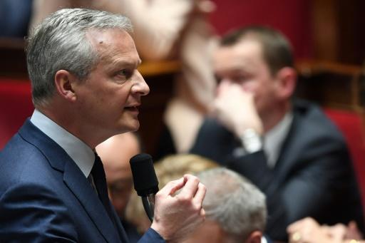 Taxe Gafa: Le Maire défend à l'Assemblée une mesure à