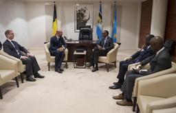 Génocide au Rwanda - M. Michel évoque l'avenir des relations UE-Afrique avec le président Kagame