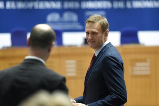 La CEDH condamne la Russie pour avoir assigné à résidence l'opposant Navalny