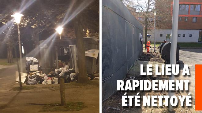 Un dépôt clandestin près du Peterbos révolte Mohamed à Anderlecht: