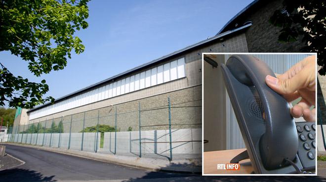 Les prisons de Jamioulx et Hasselt ont mis des téléphones dans les cellules des détenus ce week-end, pour